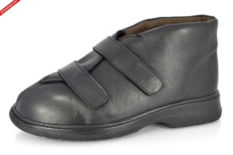 buty męskie z bardzo wysokim podbiciem